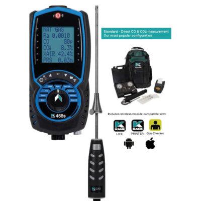 KANE458S - DOMESTIC STANDARD – Direct CO & CO2 Measurement (Most Popular)